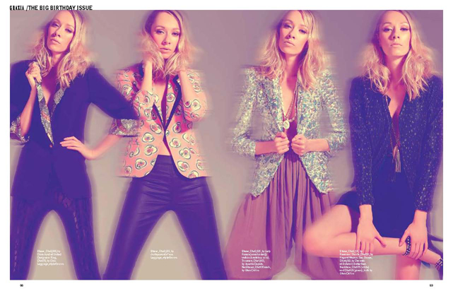 Blog Blog Archive United Designers Feature TWICE in Grazia Middle East 39s